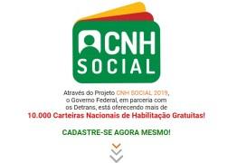 Detran na Paraíba alerta sobre site falso do Programa de Habilitação Social; confira