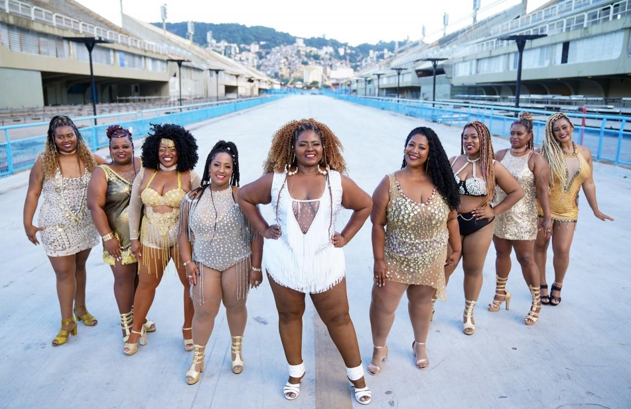 dsc08471baixa - PLUS NO SAMBA: Projeto de passistas plus size promove inclusão no carnaval do Rio