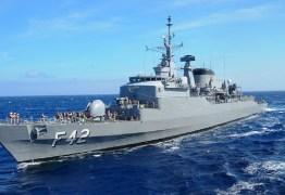 """Fragata """"Constituição"""" atraca no Porto de Cabedelo e terá visitação neste sábado (18) e domingo (19)"""