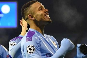 gabriel jesus manchester city 2019 20 1b0c0goka04uw1cqywl7ejzkwf - United perde para o Leicester e City conquista o campeonato inglês com duas rodadas de antecedência