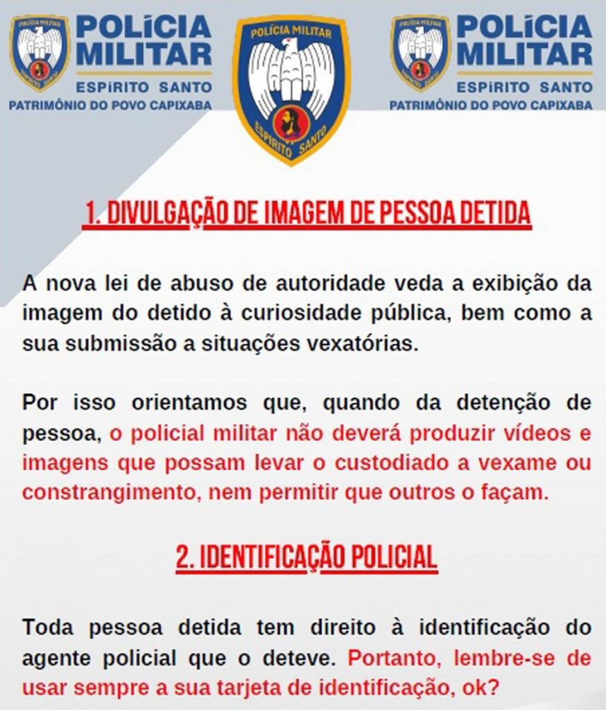 pmes - Polícias param de divulgar nomes e fotos de presos após lei de abuso de autoridade entrar em vigor