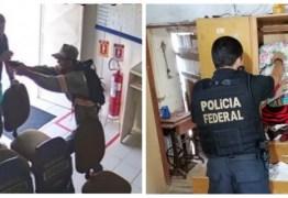 OPERAÇÃO QUEIMA ROUPA: Polícia Federal realiza ação contra quadrilha que assaltou Correios de Junco do Seridó