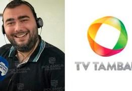 Copa do Nordeste: TV Tambaú anuncia Yuri Queiroga como narrador