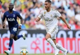 Zidane garante Hazard da Supercopa e desconversa sobre transferências