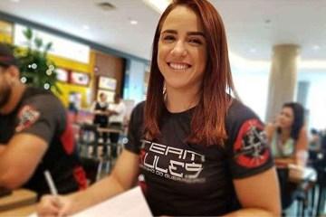 20190313203656198152o - UFC: Antes de estreia brasileira relembra passado: 'Era secretária, não podia chegar com olho roxo'