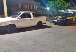 COMPRADO EM CAJAZEIRAS: PRF na Paraíba recupera veículo roubado no Estado do Ceará