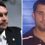 7a7eac3d fd68 47af afd0 5120c4a0426d - Flávio Bolsonaro visitou ex-PM Adriano Nóbrega na prisão, diz vereador