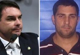Flávio Bolsonaro visitou ex-PM Adriano Nóbrega na prisão, diz vereador
