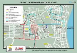 MURIÇOCAS DO MIRAMAR: Semob-JP divulga plano de mobilidade para o desfile