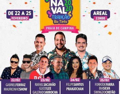 RIO TINTO 480x375 - Prefeitura de Rio Tinto divulga programação do Carnaval 2020 de Praia de Campina