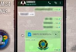 ELEIÇÕES 2020: pedidos de direitos de respostas poderão ser enviados via Whatsapp, diz resolução do TSE