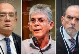 Gilmar Mendes determina que defesa de Ricardo Coutinho tenha acesso à integra de delações premiadas