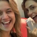 abre - Fernanda Gentil e sua mulher viajam para Dubai e fingem ser amigas