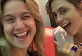 Fernanda Gentil e sua mulher viajam para Dubai e fingem ser amigas