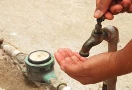 Diversos bairros da grande João Pessoa devem ficar sem água nesta sexta-feira