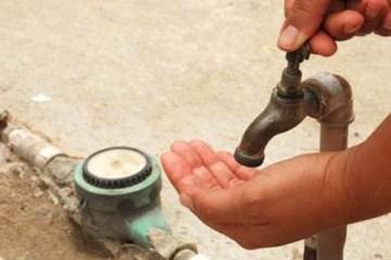 Cagepa suspende abastecimento de água em Bayeux, parte de João Pessoa e em Santa Rita