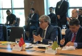 Diminuição do valor dos combustíveis será discutida na Reforma Tributária, diz Guedes em reunião com João Azevêdo e governadores