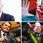 bozo bolsonaro - Ex-intérprete do palhaço Bozo diz a Bolsonaro que esquerda o elogia quando compara os dois - VEJA VÍDEO