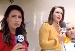 Repórteres da Globo e do SBT brigam ao vivo durante reportagem – VEJA VÍDEO