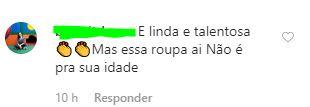 eduarda 05 - A GAROTINHA CRESCEU: Seguidores se chocam com roupas sensuais de Eduarda Brasil, campeã do The Voice Kids