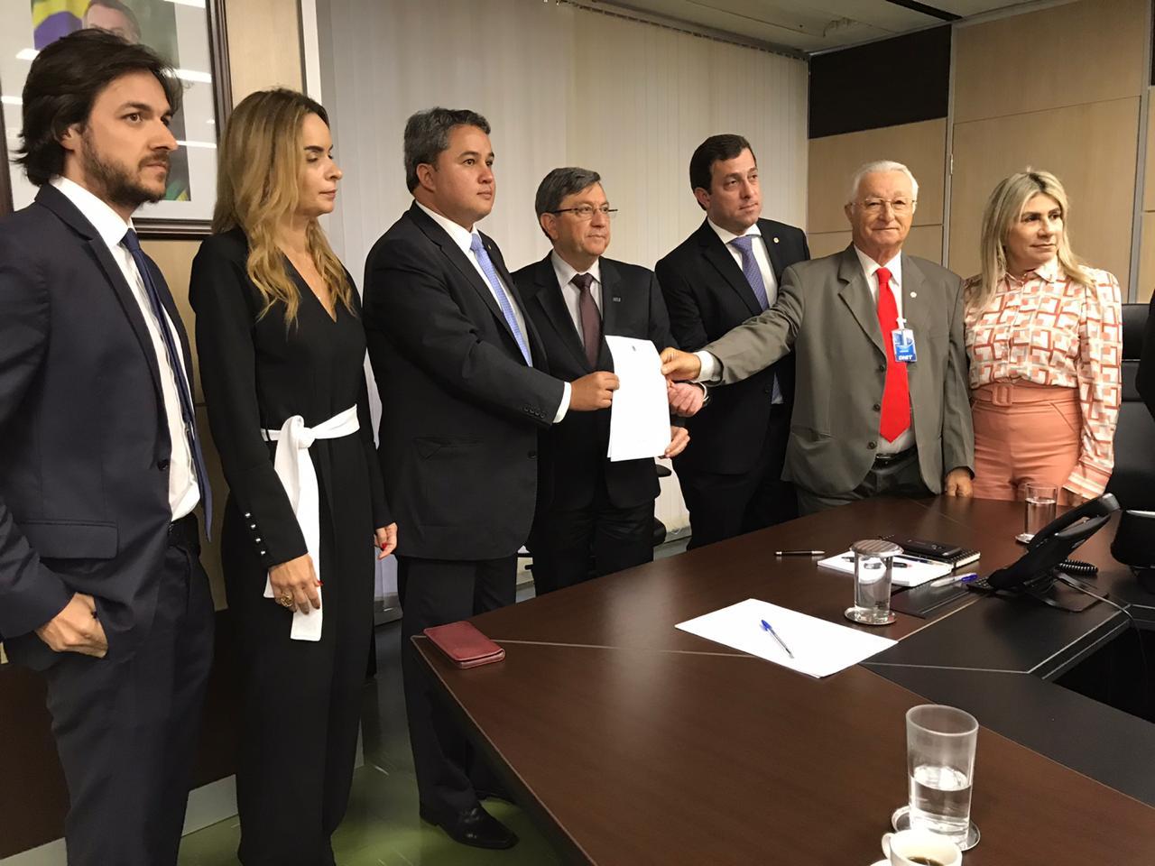 efraim bancada 2 - 'ENCONTRO POSITIVO': bancada federal pede que obras de triplicação da BR-230 sejam executadas pelo Exército