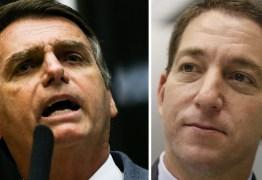 Bolsonaro diz que não cometeu ilícito ao chamar Glenn de malandro