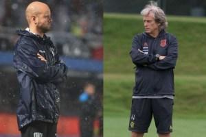 jesus x ramirez 300x200 - Com treinadores europeus, Flamengo e Independiente Del Valle começam a decidir a Recopa Sul Americana