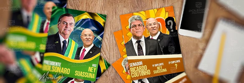 ARQUIVOS SECRETOS: Ney Suassuna desejava ser suplente de Ricardo e foi convidado para ser vice de Bolsonaro – OUÇA