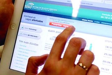 Inscrições para o Sisu terminam nesta sexta-feira com quase 5 mil vagas na Paraíba