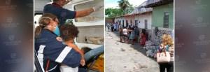 venezuelanos 300x103 - Venezuelanos encontrados em condições subhumanas no Róger recebem apoio médico e social