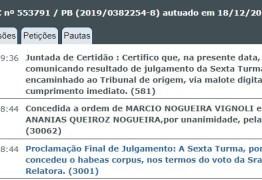 Além de Coriolano, STJ solta três investigados do 'núcleo econômico' da Calvário