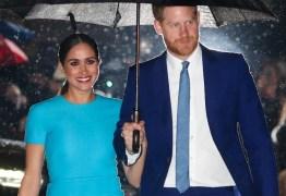 Meghan e Harry fazem primeira aparição juntos após saírem da Família Real