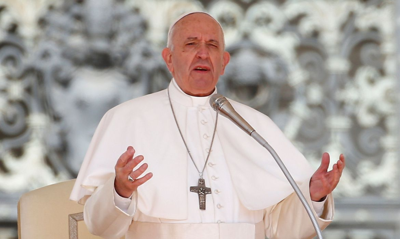 2019 05 01t074943z 1345564066 rc17e3d79900 rtrmadp 3 pope generalaudience - Papa Francisco visita Iraque em meio à pandemia de Covid
