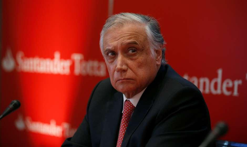 2020 03 18T114434Z 1 LYNXMPEG2H17D RTROPTP 4 BANCOS SANTANDERPORTUGAL CORONAVIRUS - Presidente do Santander de Portugal morre de coronavírus, diz jornal