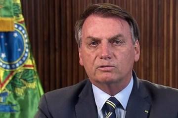 ÀS 20H30: Bolsonaro fará novo pronunciamento em cadeia nacional de rádio e televisão
