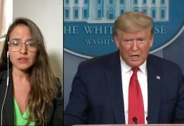 PANDEMIA DA COVID-19: Em carta, Trump pede a americanos que fiquem em casa