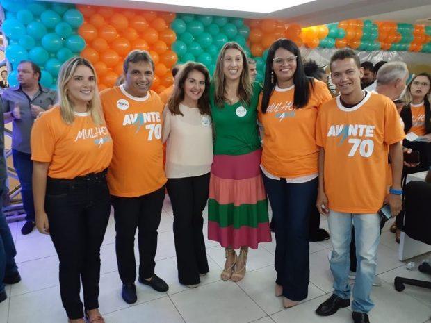 89945125 2665758083522119 4573641137989877760 n 620x465 1 - Avante oficializa filiação de Felipe Leitão e ex-deputada Nadja Palitot