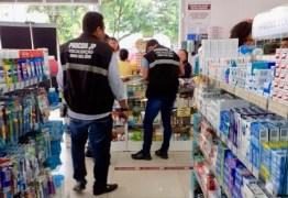 Procon-JP fiscaliza estabelecimentos que vendem máscara e álcool em gel para averiguar preço e estoque