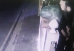 Homem pula muro para roubar alimentos em instituição de caridade