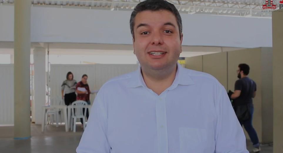 """Capturar 6 - Diego Tavares anúncia novidades para o """"Programa Escola Social"""" e """"Bolsa Universitária"""" - VEJA VÍDEO"""