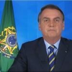 Capturar 91 - Bolsonaro usa pronunciamento para mentir mais uma vez sobre a OMS e volta a falar do impacto na economia - VEJA VÍDEO