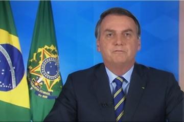 Bolsonaro usa pronunciamento para mentir mais uma vez sobre a OMS e volta a falar do impacto na economia – VEJA VÍDEO