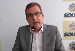 COVID-19 EM SOUSA: Prefeito fala sobre confirmação do primeiro caso e medidas de prevenção na cidade – VEJA VÍDEO