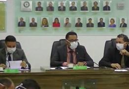 CORONAVÍRUS: Vereadores da Câmara de Bayeux realizam sessão usando máscara – VEJA VÍDEO