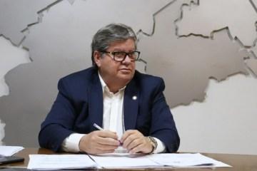 João Azevêdo 1 - EM LIVE: João irá anunciar nesta quinta-feira uma série de medidas econômicas e sociais diante pandemia do coronavírus