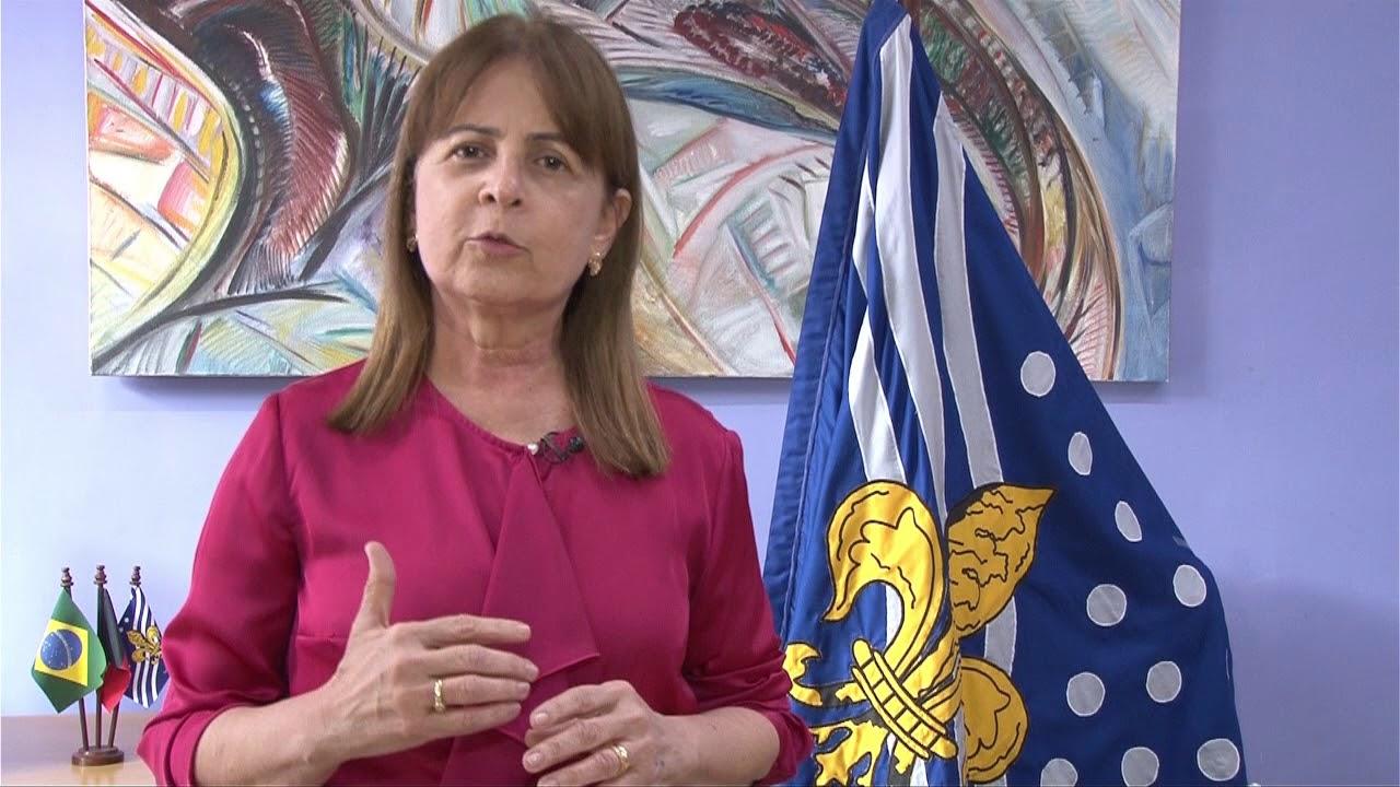 Margareth Reitora - NOVO REITOR: Margareth Diniz aceita 'democraticamente' nomeação de Valdiney e promete 'transição tranquila' na UFPB