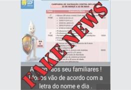 Vacinação contra a gripe em João Pessoa não vai ser em ordem alfabética