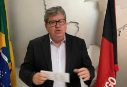 Vídeo: medidas de isolamento na Paraíba são obrigatórias, reforça João Azevêdo
