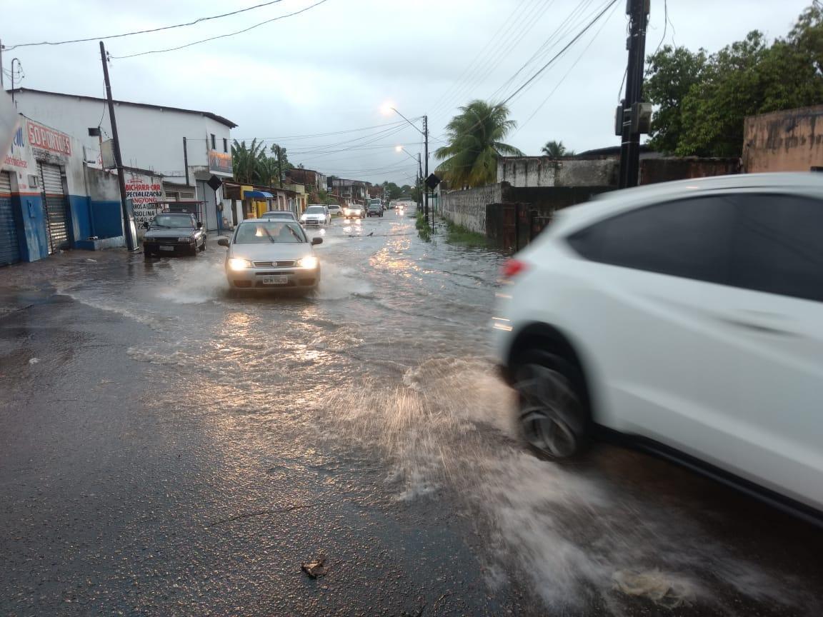 chuvas em joao pessoa varadouro fevereiro - Frente fria chega ao Nordeste provocando o aumento de chuva nos próximos dias