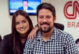 Mari Palma e Phelipe Siani são afastados da CNN após suspeita de Coronavírus
